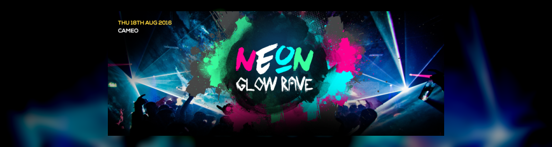 Neon Glow Rave Bournemouth Biggest A Level Results Party! on Thu 18th Aug 2016 at Cameo, Bournemouth | Fatsoma